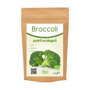 Broccoli pulbere bio 125g