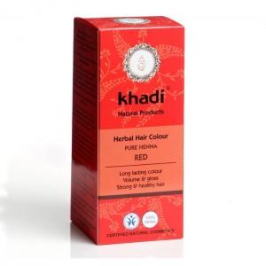 Vopsea de păr naturală roșu (Henna pură)
