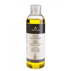 Ulei tratament pentru păr cu argan, cocos, jojoba și ricin