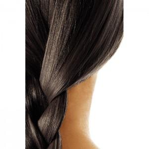 Vopsea de păr naturală șaten cenușiu