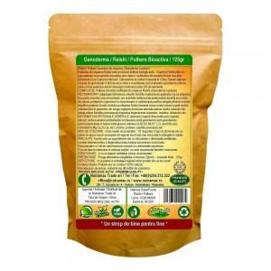 Ganoderma (Reishi) pulbere liofilizată bioactivă 125g