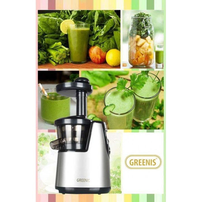 Greenis Slow Juicer - storc?tor electric prin presare la rece - Greenis